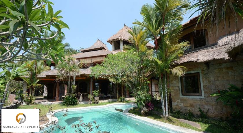 UB4003S 1 1 - BEAUTIFUL GUEST HOUSE WITH AMAZING RICE FIELD VIEW IN UBUD FOR SALE