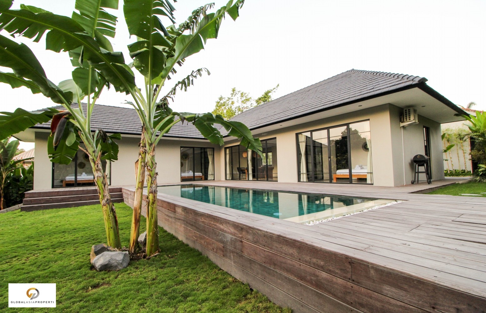 IMG 3728 - BEAUTIFUL VILLA IN AREA OF CANGGU FOR LEASE