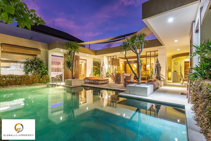 villa lisha 12 - BEAUTIFUL VILLA IN CANGGU FOR LEASE