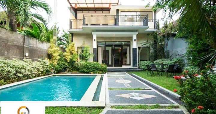 1 8 720x380 - BEAUTIFUL VILLA WITH TWO STOREY IN SEMINYAK FOR RENT