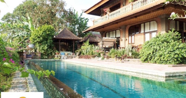 SAM 4443 720x380 - LARGE VILLA WITH RICE FIELD VIEW IN GIANYAR FOR LEASE OR SALE